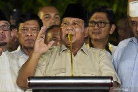 Capres Prabowo imbau pengunjuk rasa kembali ke rumah