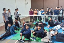 Polres Madiun amankan dua unit bus bawa massa pengikut aksi 22 Mei