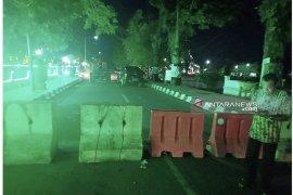 Antisipasi balapan liar, lapangan Dwi Warna Barabai ditutup satu arah