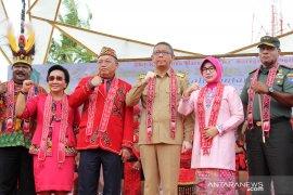Pembukaan Pekan Gawai Dayak Kalimantan Barat ke-34