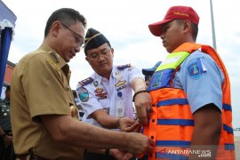 Pembukaan Posko Angkutan Laut Lebaran di Pelabuhan Dwikora Pontianak