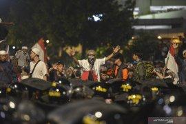 Aparat terus siaga sambut kepulangan massa Aksi 22 Mei