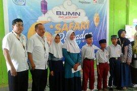 Pelni Ambon salurkan bantuan dana bagi 83 anak Yayasan Al Madinah