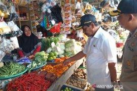 Forkopimda Belitung sidak ketersediaan-harga bahan pokok