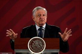 Presiden Meksiko Andres Manuel Lopez Obrador positif virus corona