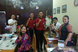 Pelajar Jembrana gelar aksi damai dukung KPU