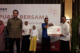 Bank Banten tingkatkan kesadaran berbagi buka puasa bersama yatim