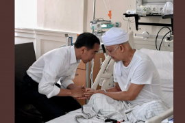 Presiden Jokowi sampaikan belasungkawa atas wafatnya Ustad Arifin Ilham