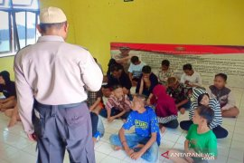 Polsek Banjarmasin  amankan 23 anak terlibat tawuran