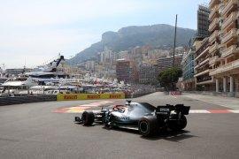 Hamilton puncaki podium GP Monaco
