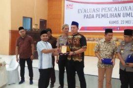 KPU Langkat berikan penghargaan kepada PWI