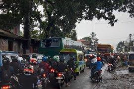 Berikut titik kemacetanpada jalur mudik Sukabumi