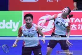 Greysia/Apriyani melaju ke babak kedua Indonesia open