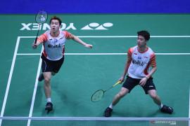 Marcus/Kevin buka keunggulan Indonesia atas Jepang di Piala Sudirman