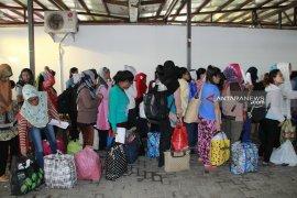 Puluhan TKI di Sabah dideportasi