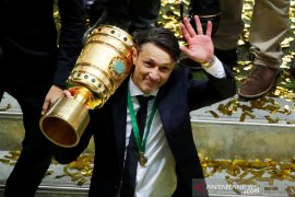 Bayern Muenchen juara Piala Jerman usai menang atas Leipzig