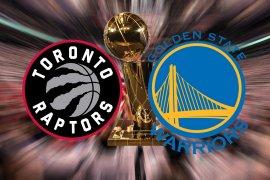 Jadwal rangkaian final NBA Raptors vs Warriors