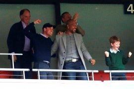 Pangeran William bahagia Villa masuk Liga Premier