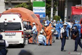 Aksi penikaman di Tokyo lukai belasan orang,  termasuk murid SD