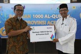 PLN serahkan 1.000 Al Quran untuk Provinsi Aceh