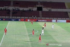 Badak Lampung menekuk Kalteng Putra 1-0 di Stadion Sultan Agung