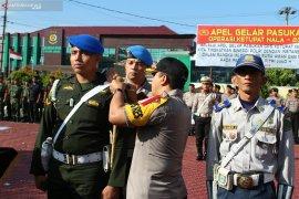 Pengamanan Lebaran di Rejang Lebong melibatkan 320 personel gabungan