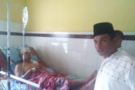 Korban serangan Harimau Sumatera di Palas dirawat intensif