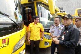 Bupati Tangerang pastikan kondisi bus mudik gratis Lebaran
