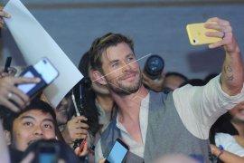 Thor dan Spiderman temui penggemar di Bali