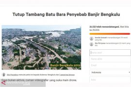 24 ribu orang teken petisi tutup tambang batu bara di Bengkulu