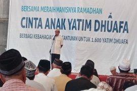 YBM PLN Sanggau santuni anak yatim dan kaum dhuafa