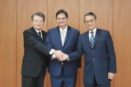 Menteri Airlangga: Jepang ingin perkuat investasi di Indonesia