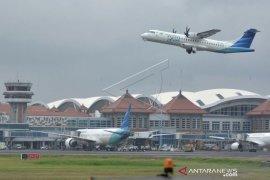 Peemohonan penerbangan tambahan Bandara Ngurah Rai turun 254 persen
