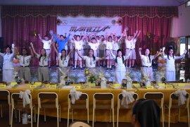 Semaraknya perpisahan siswa SMP Santa Maria Gorontalo dalam bidikan lensa