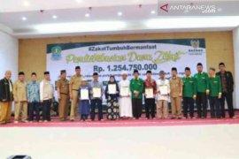 Baznas Kota Bekasi salurkan zakat senilai Rp1,2 miliar