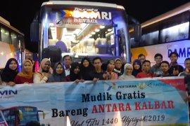 Puluhan mahasiswa asal Sambas ikut mudik gratis Antara Kalbar