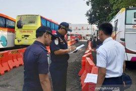 Hasil pemeriksaan 174 bus mudik di Bogor hanya 16 laik jalan
