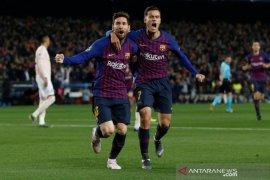 Lionel Messi pemain tersubur di Liga Champions musim ini dengan 12 gol