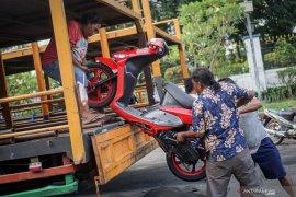 Kemenhub dorong pemudik  pemanfaatan angkutan motor gratis