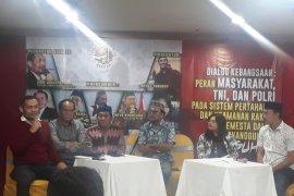 Direktur LPI ajak masyarakat dukung TNI dan Polri