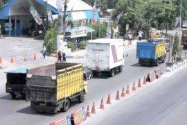 Arus lalu lintas di Jalinsum Medan-Lubuk Pakam masih normal