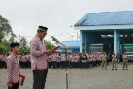 13 ASN dari luar daerah upacara Harlah Pancasila di Simalungun