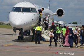 Pilot dan kru Garuda jalani tes urine di Bandara Jambi