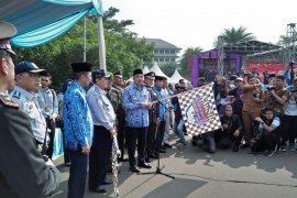Bupati Tangerang lepas 7.670 pemudik gratis Lebaran 2019