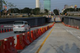 Underpass kurangi antrean kendaraan Bunderan Satelit Surabaya