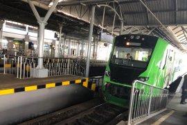 Kereta api bandara menuju YIA kembali beroperasi