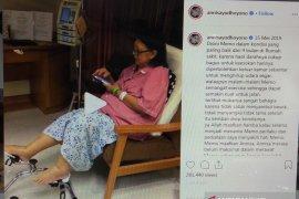 Annisa Pohan sempat unggah video Ani Yudhoyono yang energetik di RS