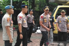 400 polisi jaga keamanan rumah duka Puri Cikeas