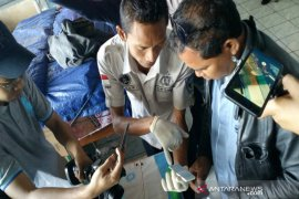 Polres Gunung Kidul tes urine sopir angkutan