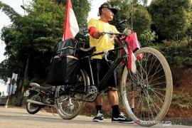 Warsono, mudik ke Selatan Nagreg dengan sepeda